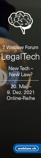 7. Weblaw Forum – New Tech – New Laws?